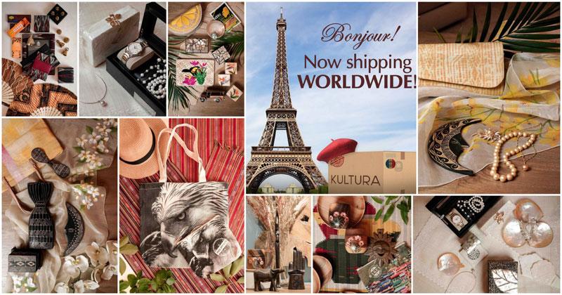 SM Kultura shipping worldwide.