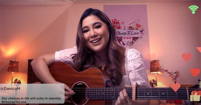 Moira and PLDT Home collaborate in a Valentines music video.