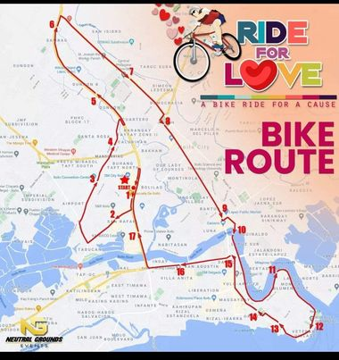 Ride for Love in Iloilo City - Bike Capital of the Philippines