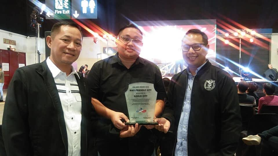 """Iloilo City was proclaimed as the country's """"Most Bike-Friendly City"""" during the PhilBike Awards in the PhilBike Expo in 2018"""
