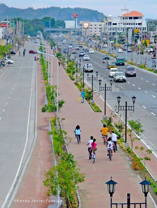 """Named as the """"Bike Capital of the Philippines,"""" Iloilo has an 11-kilometer bike lane that stretches out from the Diversion Road and to selected city roads."""