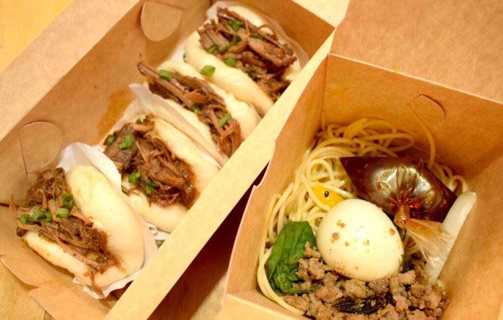 bao and sichuan noodles