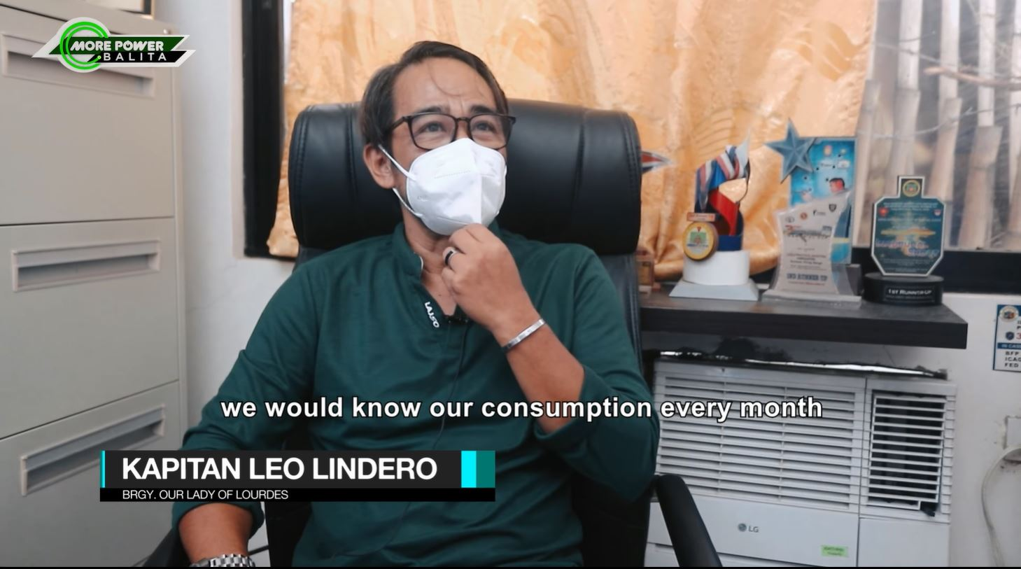 Our Lady of Lourdes' Brgy. Captain Leo Lindero mentioned that they have started tapping into the power line of the city government since the establishment of its barangay hall. However, since there is no available power meter for their utilization, they are often left clueless on how much should they pay for their power consumption.